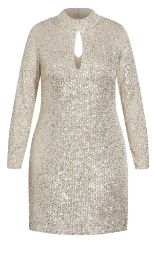 Glowing Dress - beige