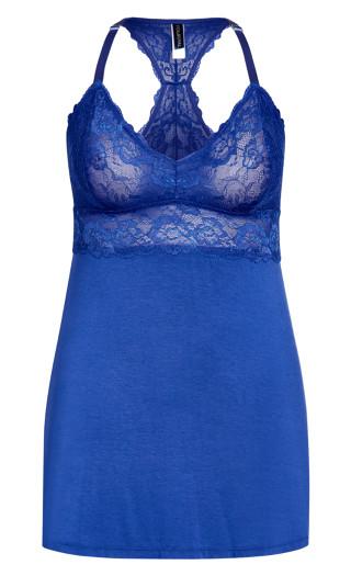 Kira Chemise - turkish blue