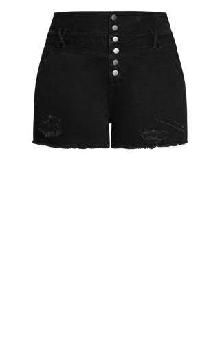 Corset Waist Short - black