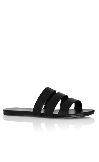 Ezra Slide - black