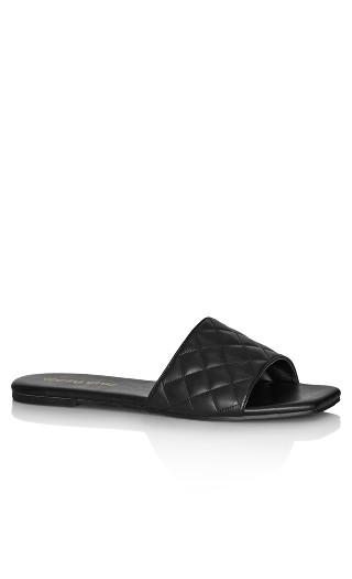 Wave Slide - black