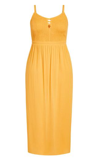 Riviera Maxi Dress - sunshine