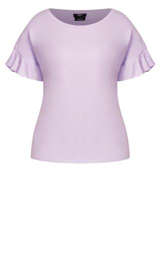 Spirit Sleeve Top - lilac