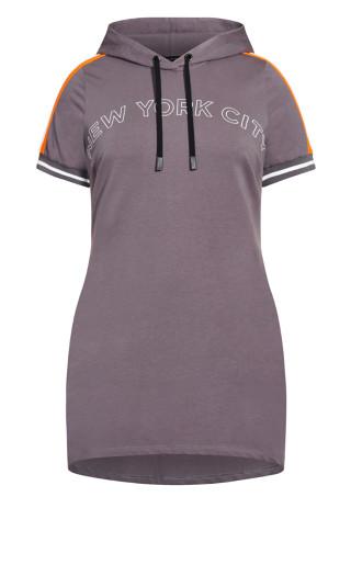 About New York Dress - granite