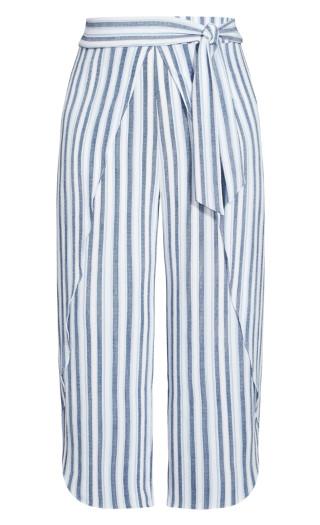 Summer Stripe Pant - ivory