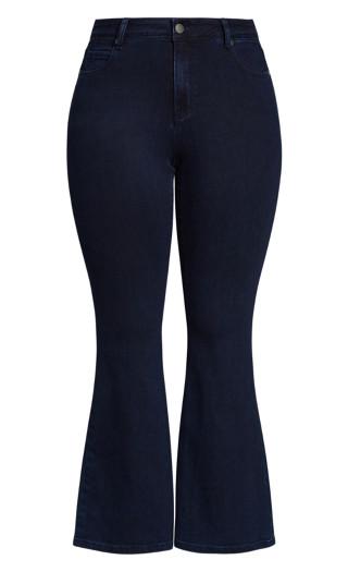 Exemplar Bootleg Jean - ink blue