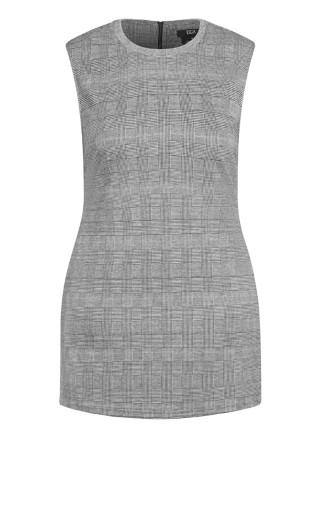 Cute Check Dress - check