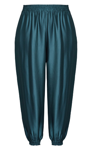 Relaxed Class Pant - peacock