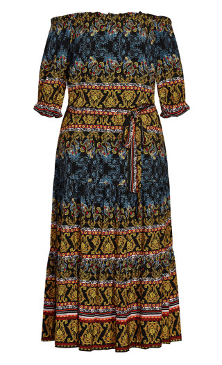 Janya Maxi Dress - black