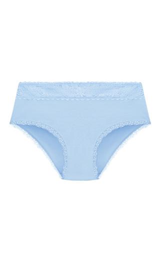 Cotton Boyshort - blue