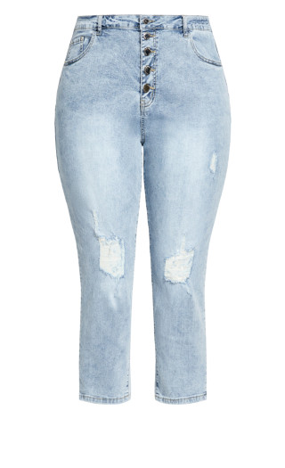 Harley Relaxed Jean - light wash