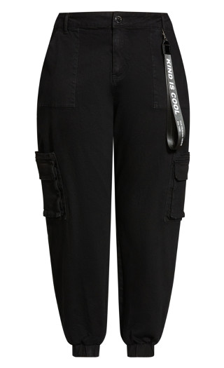 Relaxed Pockets Jean - black wash
