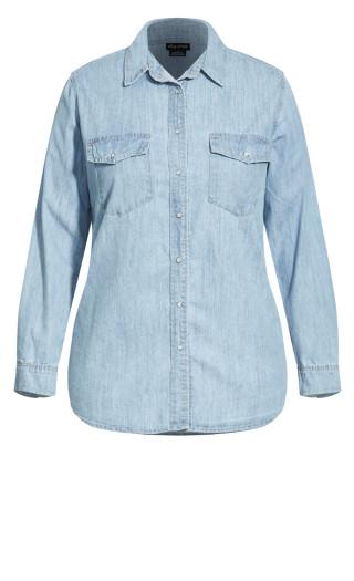 Trail Blazer Shirt - light wash