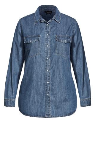 Trail Blazer Shirt - mid denim
