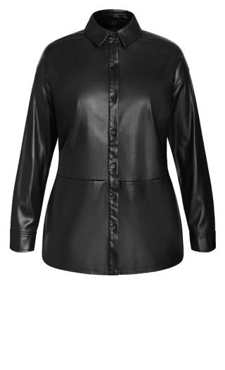 Sleek Love Jacket - black