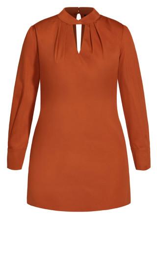 Obsession Dress - ginger