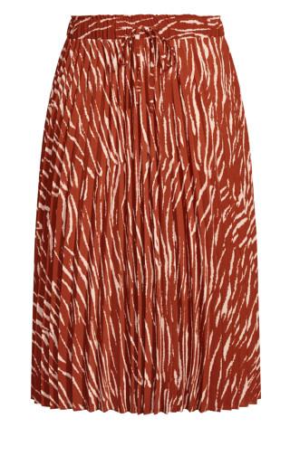 Ginger Tiger Skirt - ginger