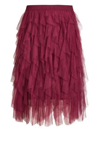Wild Pixy Skirt - berry