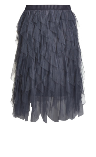 Wild Pixy Skirt - platinum
