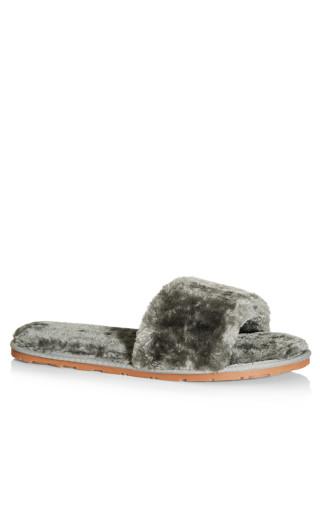 Luxe Slipper - grey