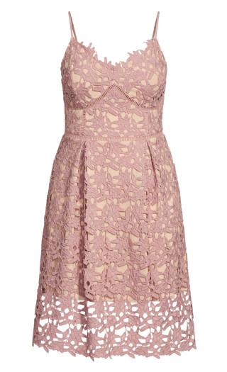 So Fancy Dress - deep blush