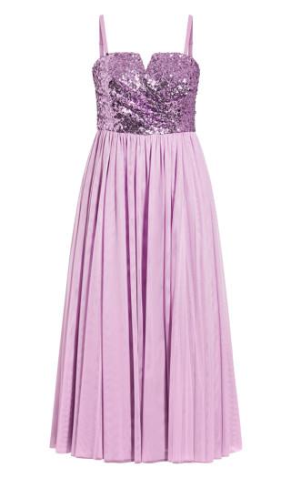Radiance Maxi Dress - lilac