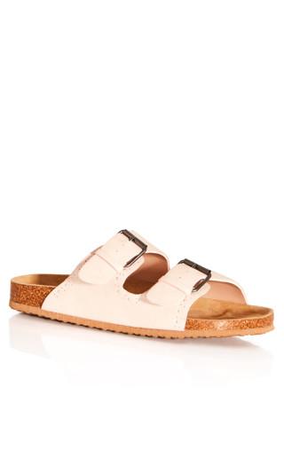 Sienna Bling Sandal - soft pink
