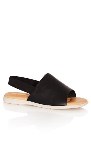 Santorini Sandal - black