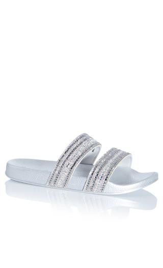 Camilla Sandal - silver