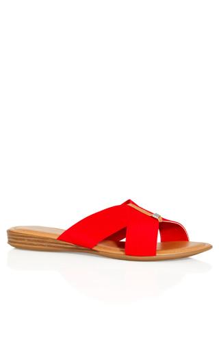Tanya Sandal - red