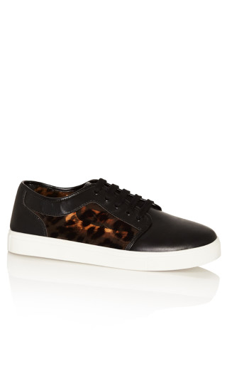 Addie Sneaker - black animal