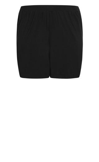 Alisha Knit Short - black