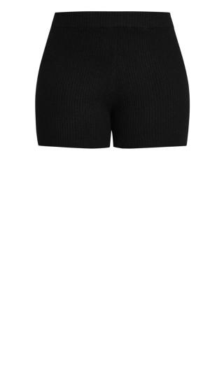 Luxe Knit Short - black