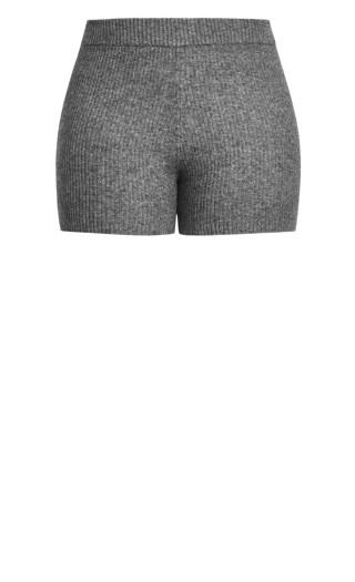 Luxe Knit Short - steel