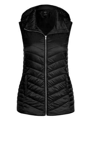 Rookie Puffer Vest - black