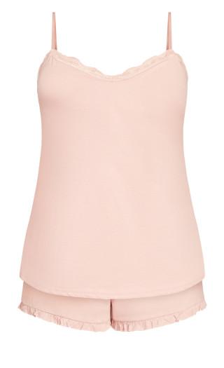 Siesta Cami Set - pink