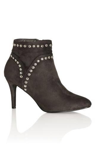 Rae Ankle Boot - gunmetal
