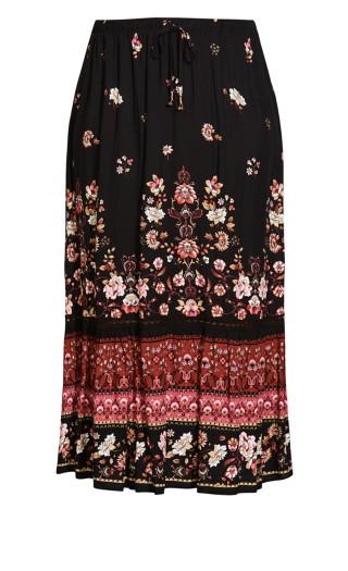 Fallen Angel Skirt - rose