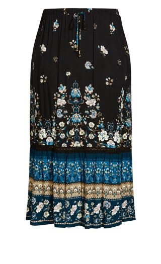 Fallen Angel Skirt - teal