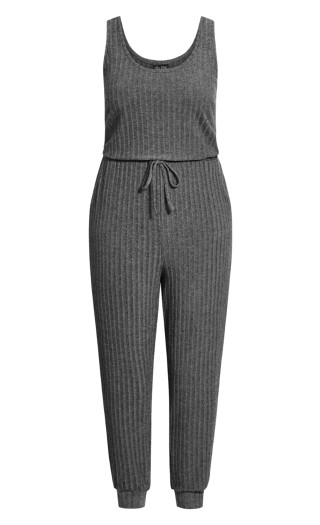 Ella Jumpsuit - grey marle
