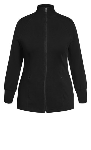 Non-Stop Jacket - black
