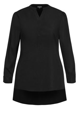 Simple Rhythm Shirt - black
