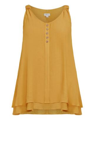 Calliope Button Tunic - yellow