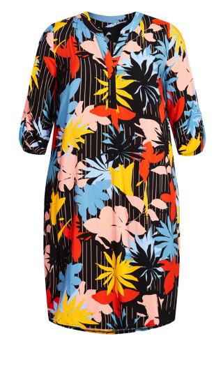 Sloane Ranger Dress - multi floral