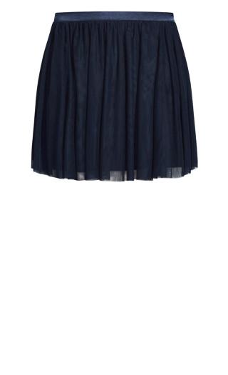 Sweet Tulle Skirt - sapphire