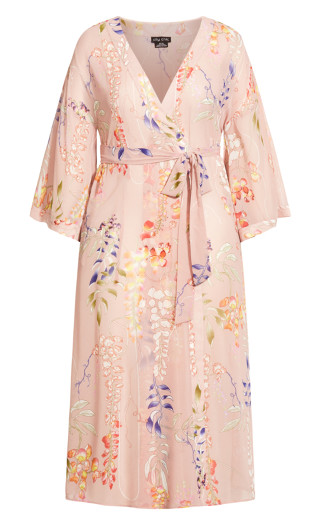 Dreamy Vine Robe - pink