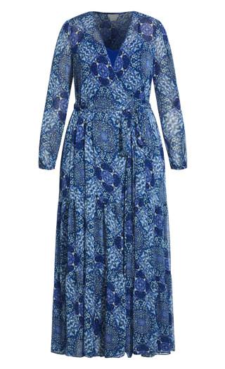 Sweet Spirit Maxi Dress - sapphire
