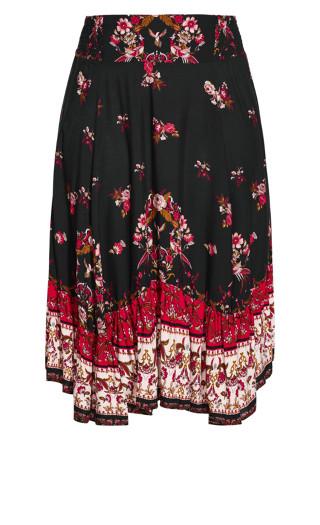 Folklore Skirt - black