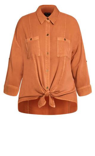Winter Lust Shirt - copper
