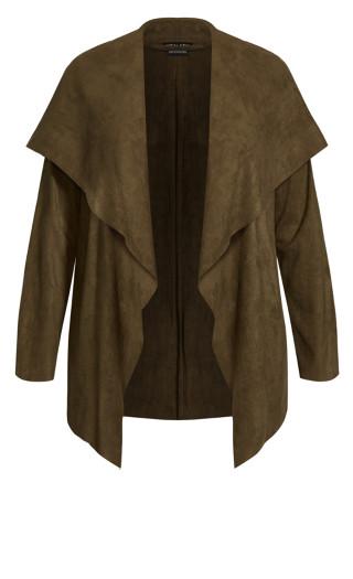 Winter Lust Jacket - khaki